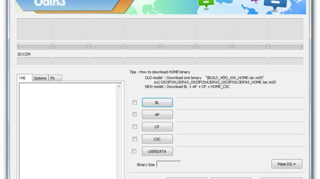 Download Odin3 v3.12.10 Screenshot
